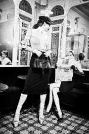 Emily DiDonato & Frida Aasen Elisabetta Franchi Fall 2017 Campaign-2