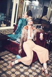 Emily DiDonato & Frida Aasen Elisabetta Franchi Fall 2017 Campaign-4