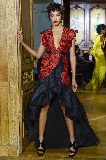 Ronald van der Kemp Fall 2017 Couture Look 31