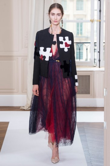 Schiaparelli Fall 2017 Couture Look 12
