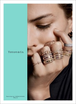 Tiffany & Co. Fall 2017 Campaign-Cameron Russell