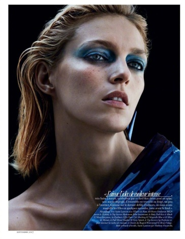 Anja Rubik Vogue Paris September 2017-2