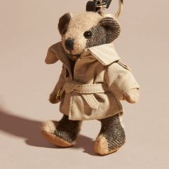 Burberry Thomas Bear Charm in Trench Coat-Camel-1