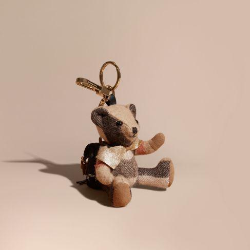 Burberry Thomas Bear Charm with Rucksack