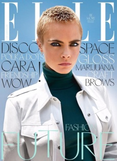 Cara Delevingne ELLE UK September 2017 Cover-1