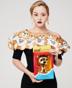 Devon Aoki Moschino x Sephora Collection Makeup-1