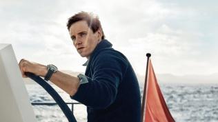 Eddie Redmayne Alessandra Ambrosio OMEGA Watches Seamaster Aqua Terra Campaign-1