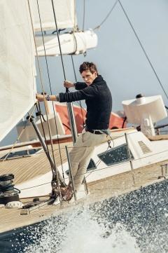Eddie Redmayne Alessandra Ambrosio OMEGA Watches Seamaster Aqua Terra Campaign-11