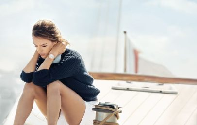 Eddie Redmayne Alessandra Ambrosio OMEGA Watches Seamaster Aqua Terra Campaign-12