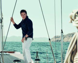 Eddie Redmayne Alessandra Ambrosio OMEGA Watches Seamaster Aqua Terra Campaign-13
