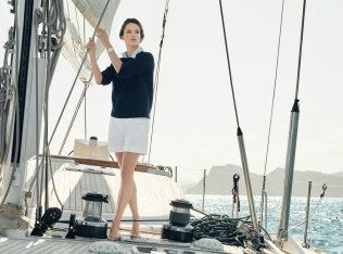 Eddie Redmayne Alessandra Ambrosio OMEGA Watches Seamaster Aqua Terra Campaign-2
