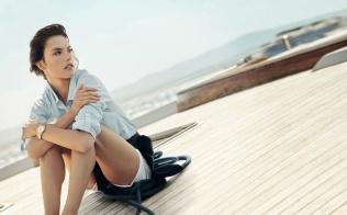 Eddie Redmayne Alessandra Ambrosio OMEGA Watches Seamaster Aqua Terra Campaign-3