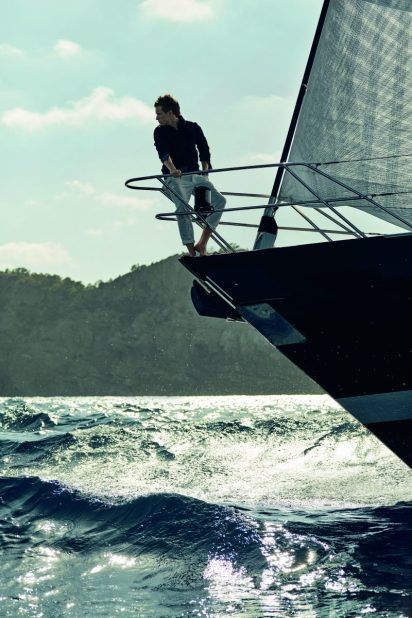 Eddie Redmayne Alessandra Ambrosio OMEGA Watches Seamaster Aqua Terra Campaign-4