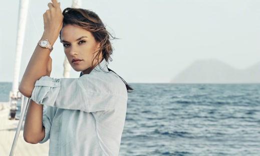 Eddie Redmayne Alessandra Ambrosio OMEGA Watches Seamaster Aqua Terra Campaign-7