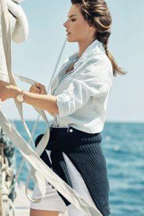 Eddie Redmayne Alessandra Ambrosio OMEGA Watches Seamaster Aqua Terra Campaign-8