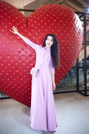 Fan Bingbing in Valentino Fall 2017-2