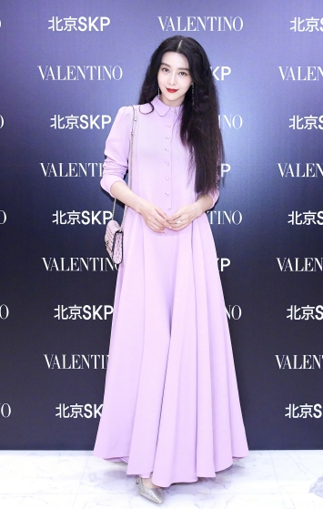Fan Bingbing in Valentino Fall 2017