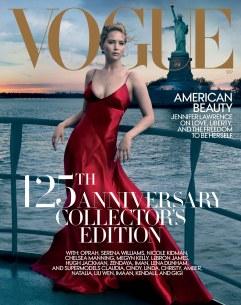Jennifer Lawrence Vogue US September 2017 Cover A
