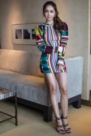 Jolin Tsai in Etro Fall 2017