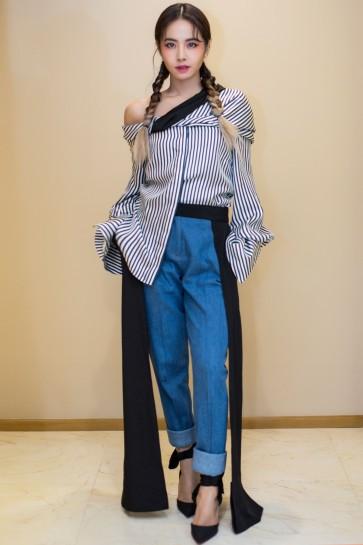 Jolin Tsai in Hellessy Fall 2017-2