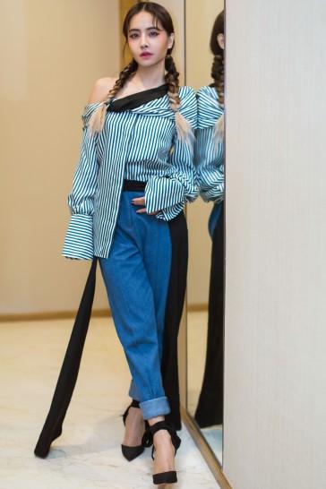 Jolin Tsai in Hellessy Fall 2017-6