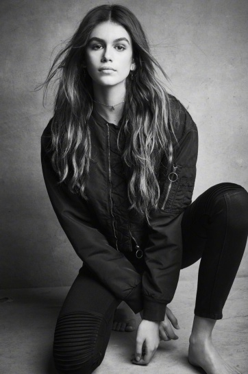 Kaia Gerber & Gabriel-Kane Day-Lewis Hudson Jeans Fall 2017 Campaign-3