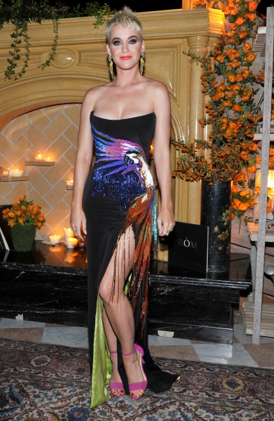Katy Perry in Roberto Cavalli Couture-2