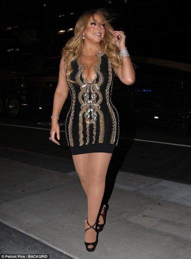 Mariah Carey in Balmain