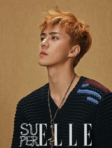 Oh Se-hun Super ELLE China Fall 2017-7