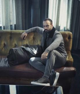 Robert De Niro Benjamin Millepied Ermenegildo Zegna Fall 2017 Campaign-5