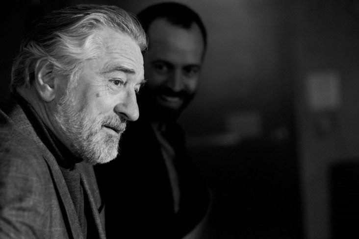 Robert De Niro Benjamin Millepied Ermenegildo Zegna Fall 2017 Campaign-6