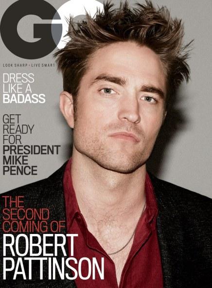 Robert Pattinson GQ US September 2017 Cover