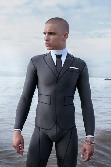 Thom Browne Technical Wetsuit Editorial-3