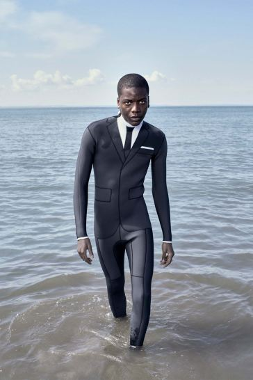 Thom Browne Technical Wetsuit Editorial-5