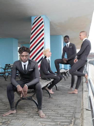 Thom Browne Technical Wetsuit Editorial-6