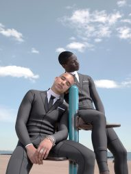 Thom Browne Technical Wetsuit Editorial-7