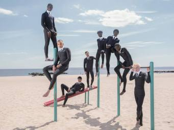 Thom Browne Technical Wetsuit Editorial-9