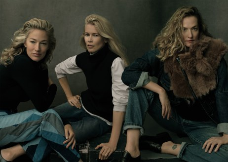 Vogue US September 2017-Elaine Irwin &Claudia Schiffer &Tatjana Patitz