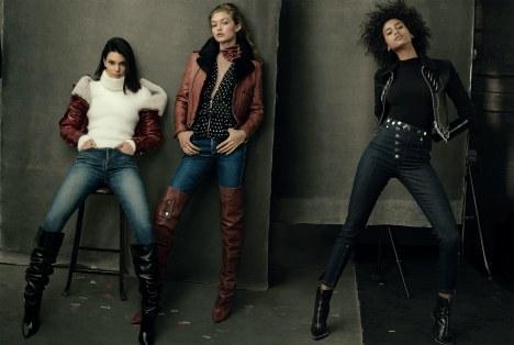 Vogue US September 2017-Kendall Jenner & Gigi Hadid & Imaan Hammam