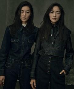 Vogue US September 2017-Liu Wen &Fei Fei Sun