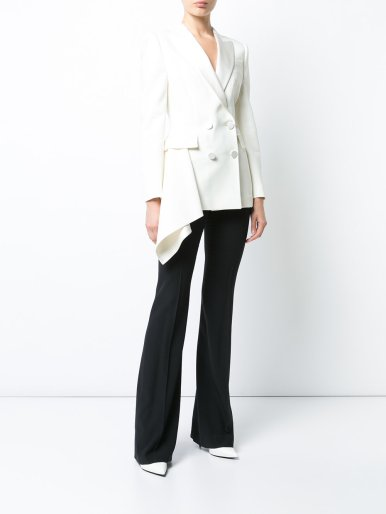 Alexander McQueen tail double breasted jacket