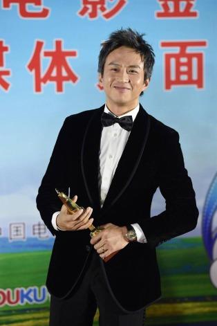 Deng Chao in Giorgio Armani