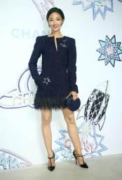 Guey Lun Mei in Chanel Fall 2017-1