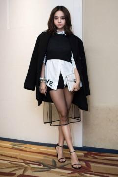 Jolin Tsai in Versace Fall 2017