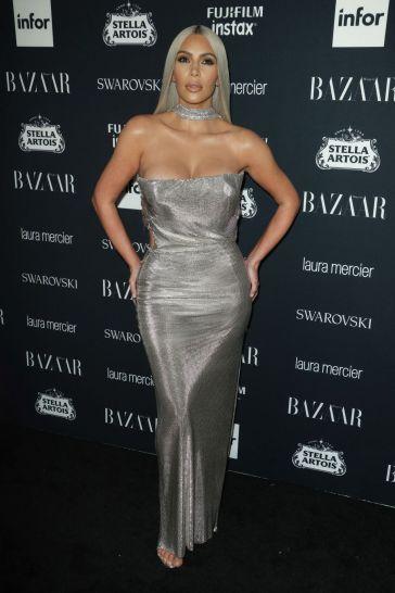 Kim Kardashian in Vintage Versace Couture-1