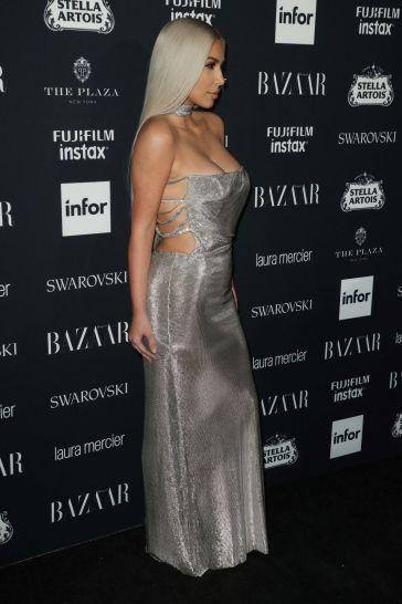 Kim Kardashian in Vintage Versace Couture-2