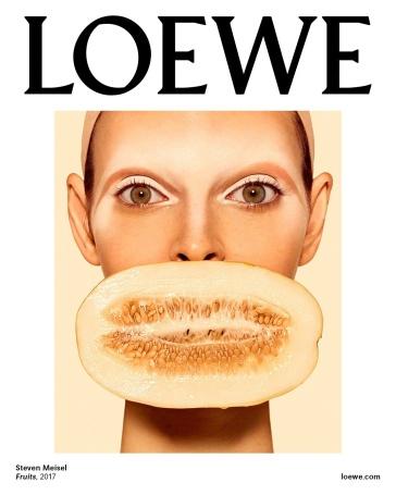 Vittoria Ceretti Loewe Spring 2018 Campaign-1