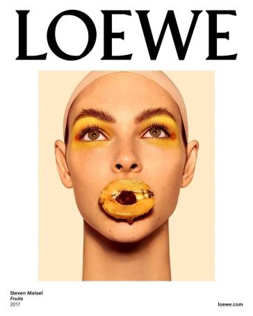 Vittoria Ceretti Loewe Spring 2018 Campaign-3
