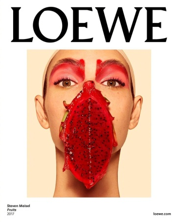 Vittoria Ceretti Loewe Spring 2018 Campaign-4