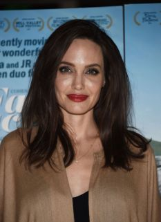Angelina Jolie in Ryan Roche Spring 2016-1
